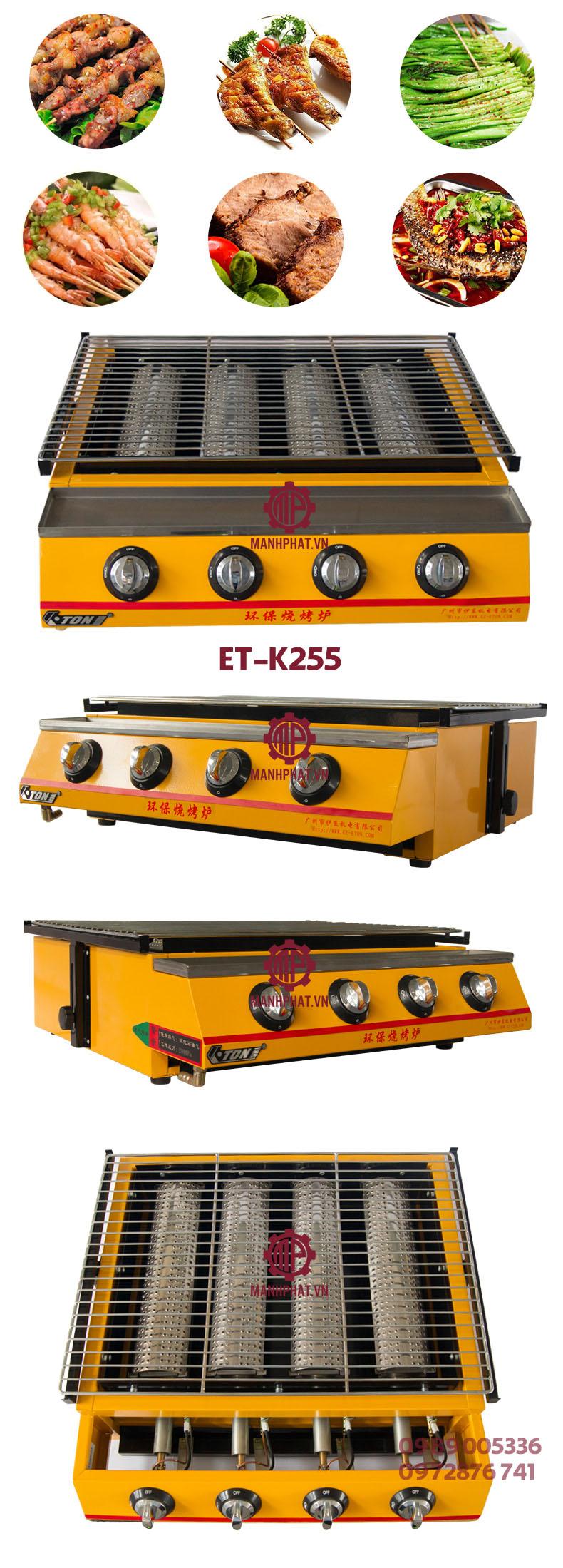 bep nuong et-k255